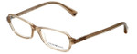 Emporio Armani Designer Eyeglasses EA3009-5084-52 in Brown Pearl 52mm :: Custom Left & Right Lens
