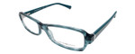 Emporio Armani Designer Eyeglasses EA3016-5101 in Blue Green 53mm :: Rx Bi-Focal