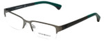 Emporio Armani Designer Reading Glasses EA1033-3003-55 in Matte Gunmetal 55mm
