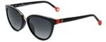 Carolina Herrera Designer Sunglasses SHE688-700K in Black