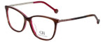 Carolina Herrera Designer Eyeglasses VHE758K-06BA in Pink Brown 54mm :: Rx Single Vision