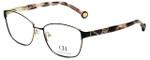 Carolina Herrera Designer Eyeglasses VHE109K-0327 in Black 55mm :: Progressive