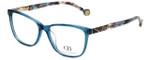 Carolina Herrera Designer Eyeglasses VHE761K-06N1 in Blue 53mm :: Progressive