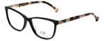 Carolina Herrera Designer Eyeglasses VHE761K-700Y in Black 53mm :: Progressive