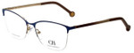 Carolina Herrera Designer Eyeglasses VHE108K-0354 in Blue 54mm :: Rx Bi-Focal