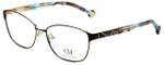 Carolina Herrera Designer Reading Glasses VHE109K-0367 in Brown 55mm