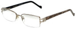 Charriol Designer Eyeglasses PC7177-C2 in Silver Zebra 52mm :: Progressive