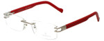 Charriol Designer Reading Glasses PC20454-C8 in Red 52mm