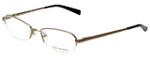 Tory Burch Designer Eyeglasses TY1003-106-50 in Gold 50mm :: Custom Left & Right Lens