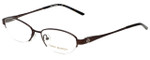 Tory Burch Designer Eyeglasses TY1002-104 in Brown 49mm :: Progressive
