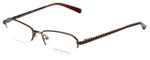 Tory Burch Designer Eyeglasses TY1003-104 in Brown 50mm :: Progressive
