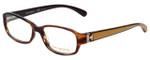 Tory Burch Designer Eyeglasses TY2001-860 in Honey Havana 51mm :: Custom Left & Right Lens