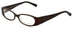 Tory Burch Designer Eyeglasses TY2011Q-862 in Brown Tortoise 50mm :: Custom Left & Right Lens
