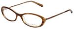 Tory Burch Designer Eyeglasses TY2007-841 in Brown 52mm :: Rx Single Vision