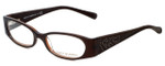 Tory Burch Designer Eyeglasses TY2011Q-513 in Brown 50mm :: Rx Single Vision