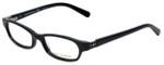 Tory Burch Designer Eyeglasses TY2016B-501 in Black Silver 50mm :: Rx Single Vision