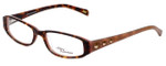 Daisy Fuentes Designer Eyeglasses DFNATALIE-145 in Tortoise Pink 51mm :: Custom Left & Right Lens