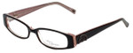 Daisy Fuentes Designer Eyeglasses DFCECILIA-077 in Burgundy 49mm :: Progressive