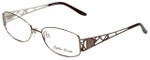 Sophia Loren Designer Eyeglasses SL-M191-038 in Taupe 55mm :: Custom Left & Right Lens