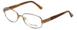 Sophia Loren Designer Eyeglasses SL-M241-234 in Tan 52mm :: Custom Left & Right Lens