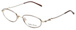 Sophia Loren Designer Eyeglasses SL-M171-963 in Burgundy/Gold 50mm :: Rx Single Vision
