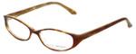 Via Spiga Designer Reading Glasses Striano-620 in Blonde Tort 52mm