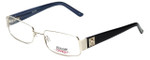 iStamp Designer Eyeglasses XP609M-057 in Gold 55mm :: Custom Left & Right Lens