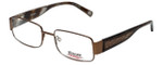 iStamp Designer Eyeglasses XP601M-183 in Brown 52mm :: Rx Single Vision