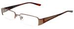 Versace Designer Eyeglasses 1109-1045 in Havana/Bronze 52mm :: Custom Left & Right Lens