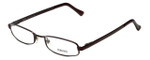 Versace Designer Eyeglasses 1003-1006 in Dark Brown 51mm :: Rx Single Vision