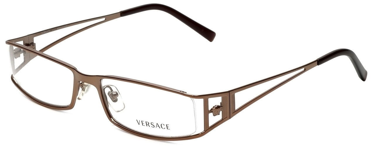 1c7423e8386 Versace Designer Eyeglasses 1095-1013 in Copper 52mm    Progressive.  Loading zoom