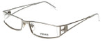 Versace Designer Reading Glasses 1095-1000 in Silver 52mm