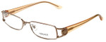Versace Designer Reading Glasses 1104B-1052 in Peach 52mm