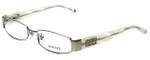 Versace Designer Eyeglasses 1122B-1221 in Platinum/Ivory 51mm :: Custom Left & Right Lens