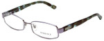 Versace Designer Eyeglasses 1176-1029 in Lilac Striped Turquoise 53mm :: Rx Single Vision