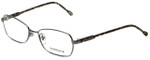 Versace Designer Eyeglasses 1192-1001 in Gunmetal 52mm :: Rx Bi-Focal