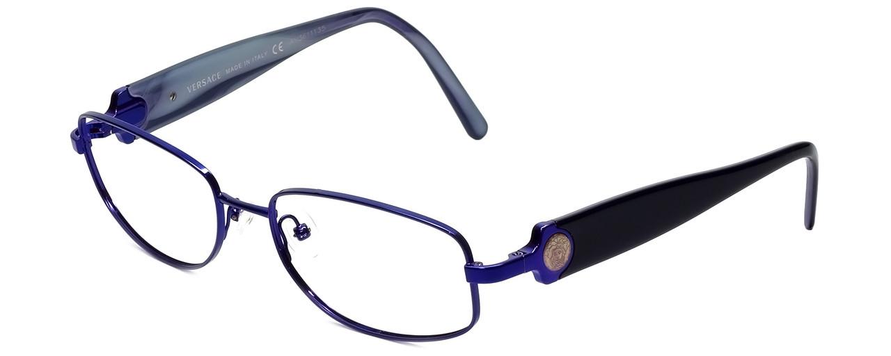 2710ba729ad5 Versace Designer Reading Glasses 1149-1230 in Midnight Violet 53mm. Loading  zoom