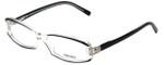 Versace Designer Eyeglasses 3040B-139 in Crystal/Black 54mm :: Rx Single Vision