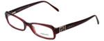 Versace Designer Eyeglasses 3066B-109 in Dark Wine 51mm :: Rx Single Vision