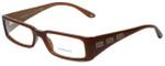 Versace Designer Eyeglasses 3105-742 in Brown 51mm :: Rx Single Vision