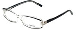 Versace Designer Eyeglasses 3040B-139 in Crystal/Black 54mm :: Progressive
