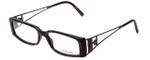 Versace Designer Eyeglasses 3082-637 in Brown Marble 54mm :: Progressive