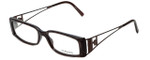 Versace Designer Reading Glasses 3082-637 in Brown Marble 54mm