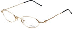 Versace Designer Eyeglasses M17-030 in Gold 48mm :: Custom Left & Right Lens