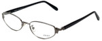 Versace Designer Eyeglasses M72-89M in Black 52mm :: Rx Single Vision