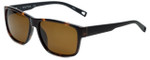 Nautica Designer Polarized Sunglasses N6203S-320 in Tortoise with Brown Lens