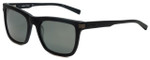 Nautica Designer Polarized Sunglasses N6205S-005 in Matte Black with Grey Lens