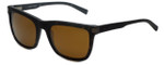 Nautica Designer Polarized Sunglasses N6205S-309 in Matte Tortoise with Brown Lens
