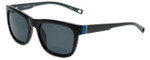 Nautica Designer Polarized Sunglasses N6212S-001 in Black with Grey Lens