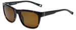 Nautica Designer Polarized Sunglasses N6212S-310 in Tortoise with Brown Lens